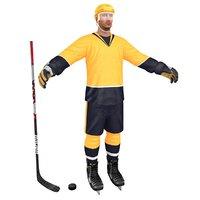 hockey player model
