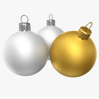 decoration christmas deco 3d model