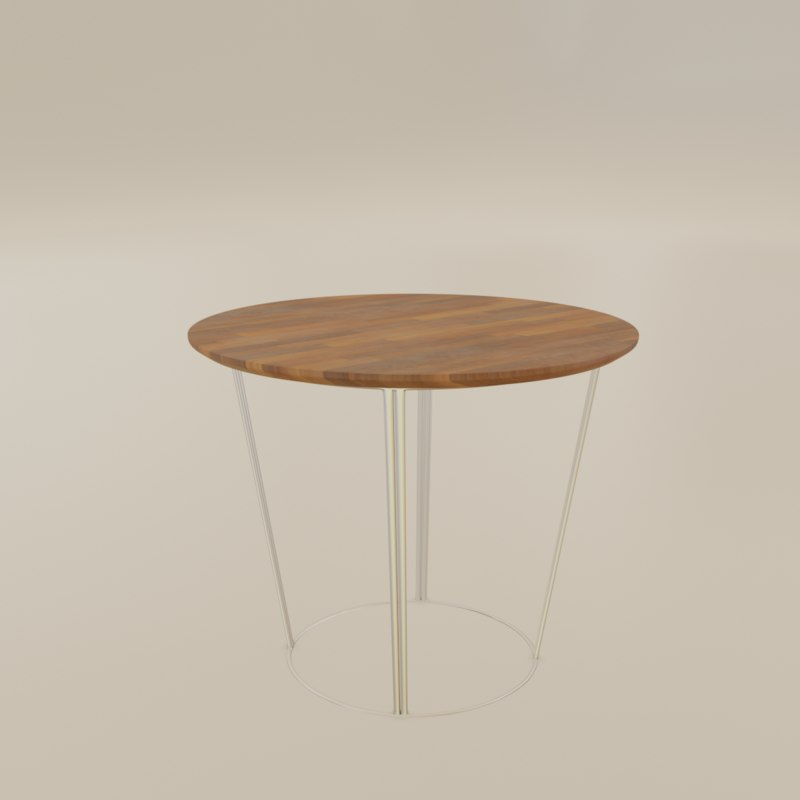 small coffee table 3D model