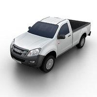 3d model isuzu d-max 2013 pickup truck