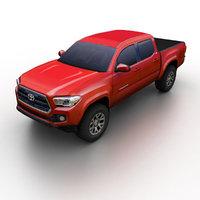 3d model toyota tacoma 2016 pickup truck