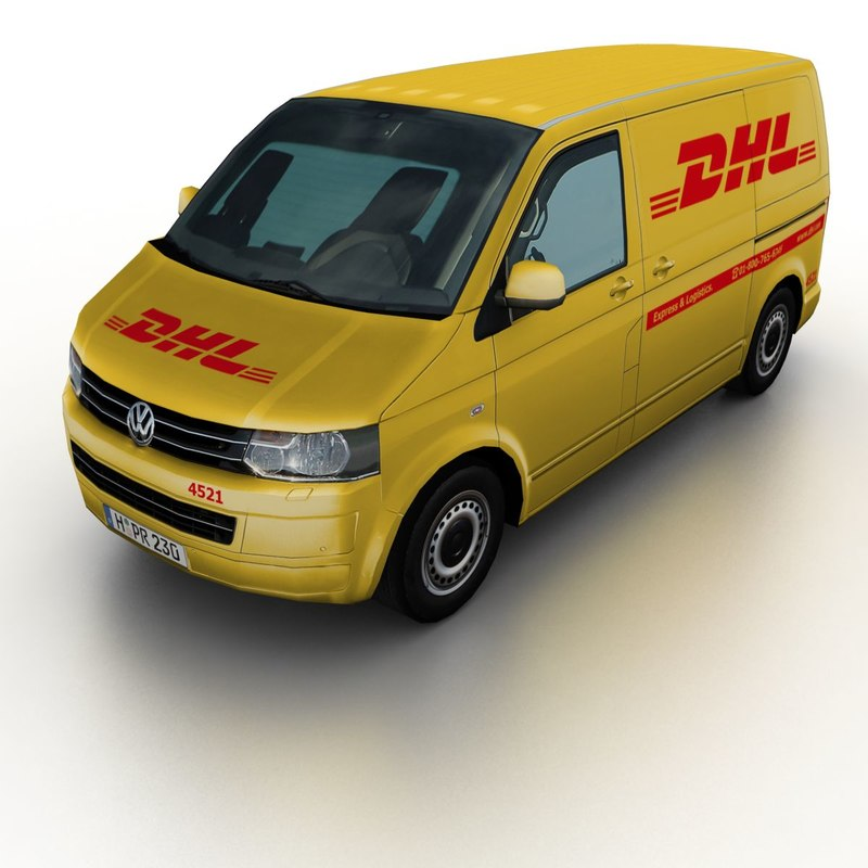 2011 volkswagen t5 transporter 3d model