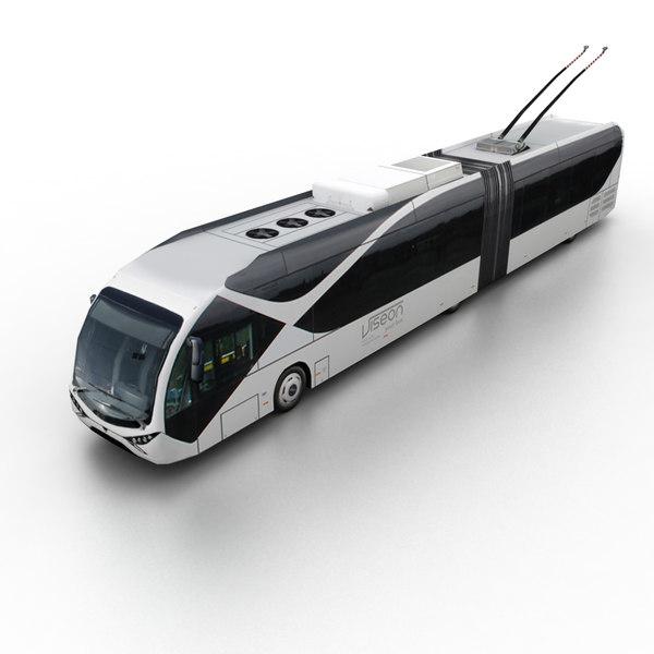 3d model viseon lt20 2012 bus