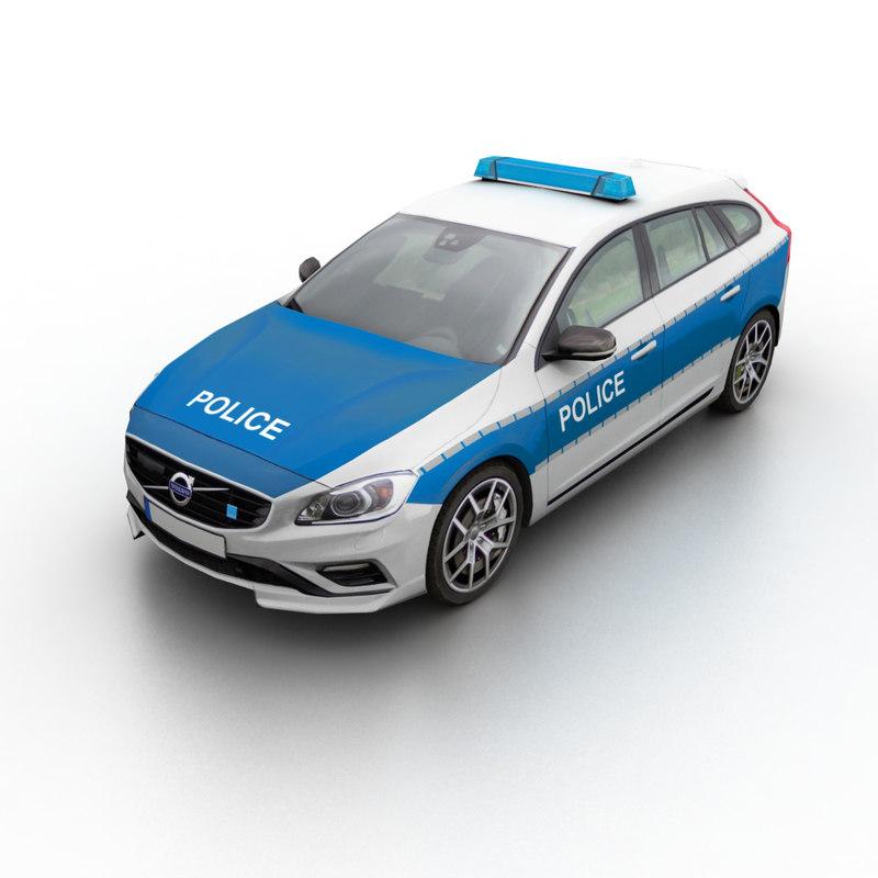 v60 2015 police 3d 3ds