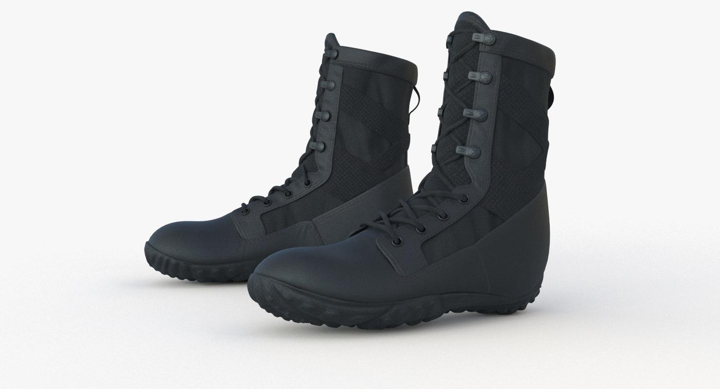pbr boot 3D model