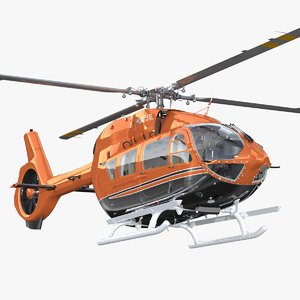 3D airbus helicopters h145 interior