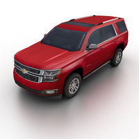 2015 chevrolet tahoe suv 3d max