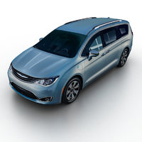 3d 2017 chrysler pacifica hybrid