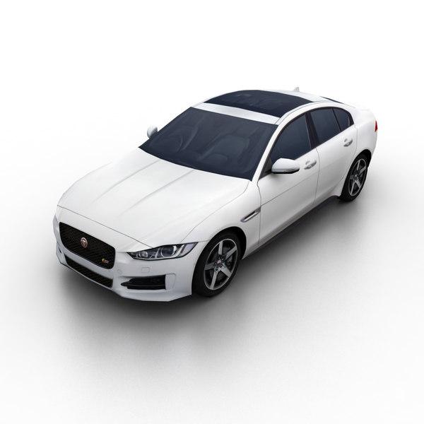 2017 xe sport sedan 3d model