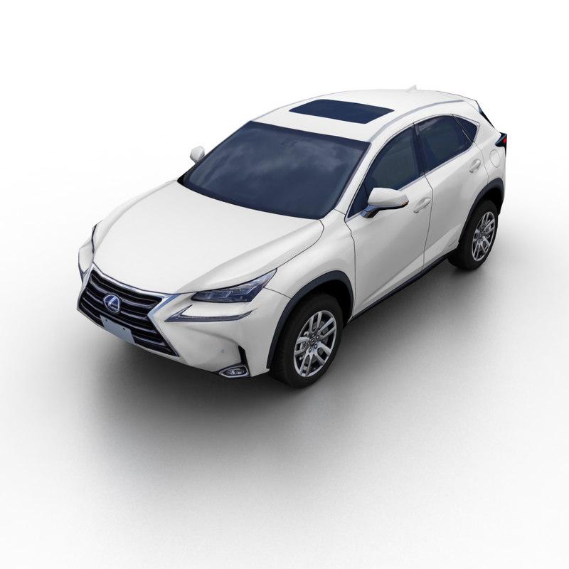 Lexus 2015 Suv Price: 2015 Lexus Nx Suv 3d Max