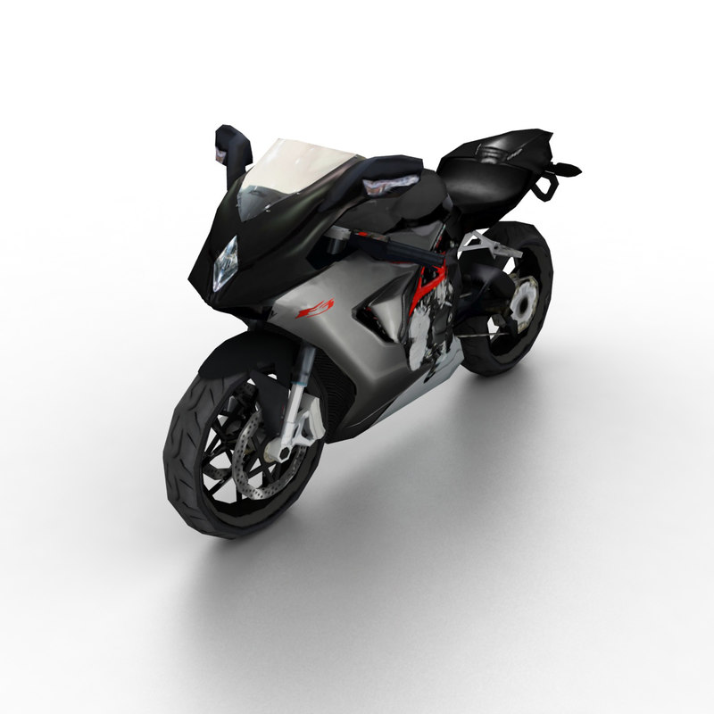 3d model 2012 mv agusta f3