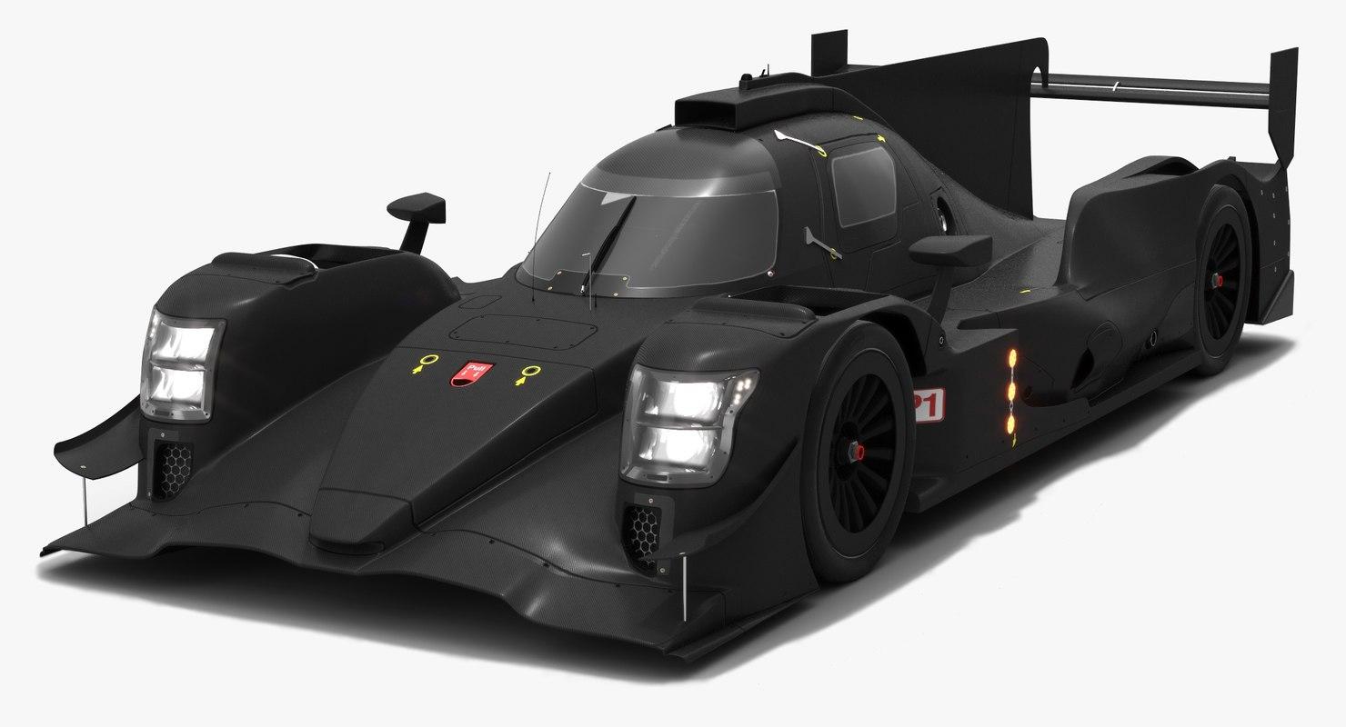 r13 race car lmp1 3D model