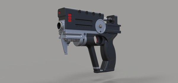 blaster movie 3D model