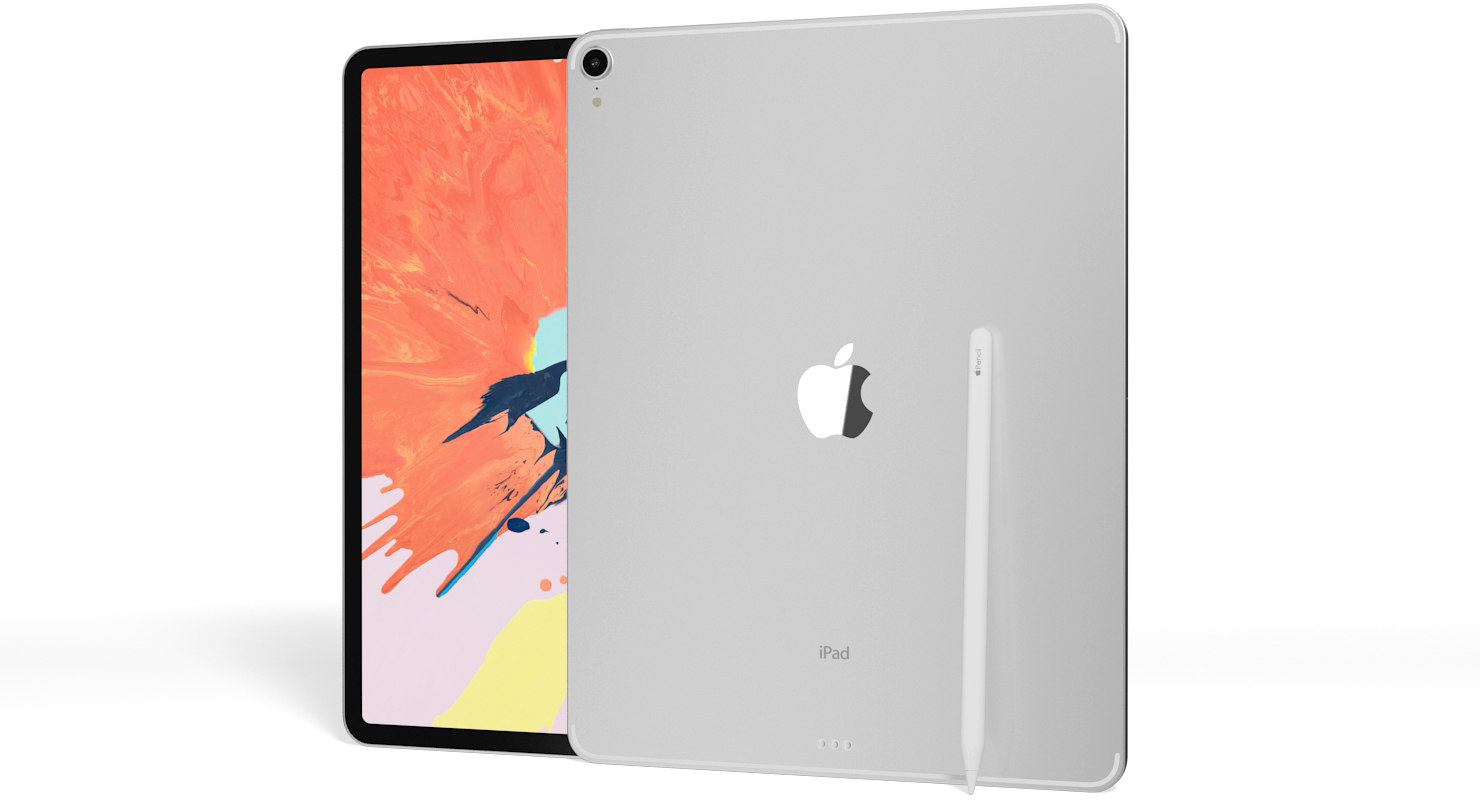 realistic apple ipad pro 3D model