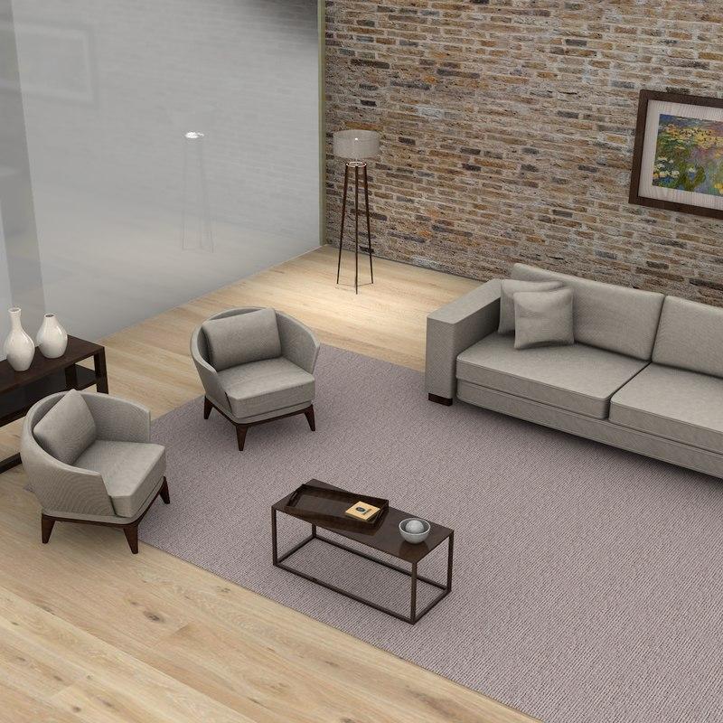 3D model living room l036