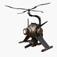 adora steele steampunk 3D