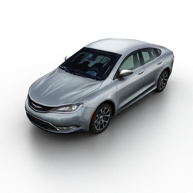 2015 chrysler 200 sedan 3d model