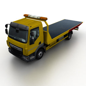 tow truck 2013 3D model