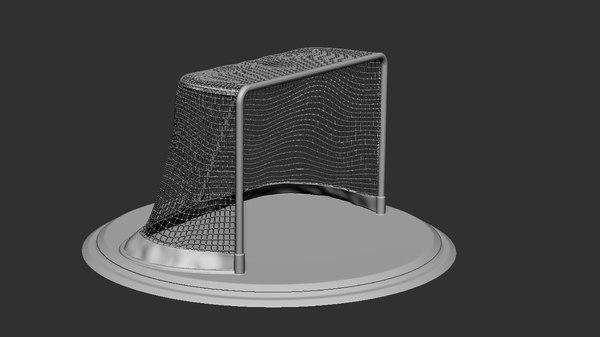 ice hockey net print 3D model