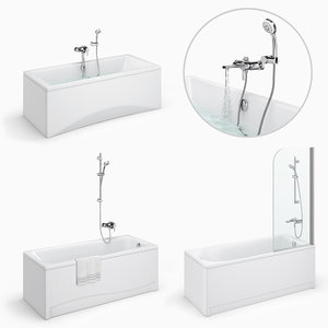 set baths cersanit 24 3D