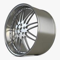 alloy wheels 3D model