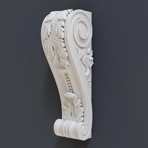3D decorate classical