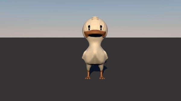 ducky duck 3D model