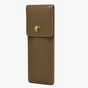 3D small leather case