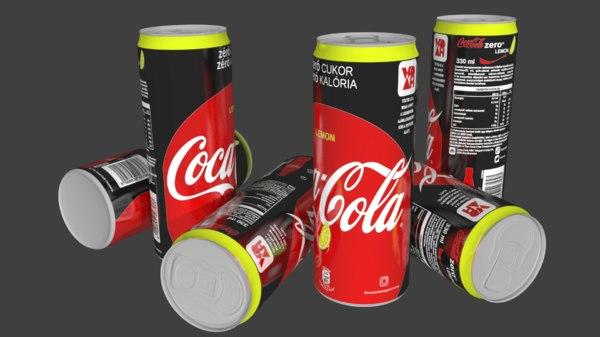 3D coke model