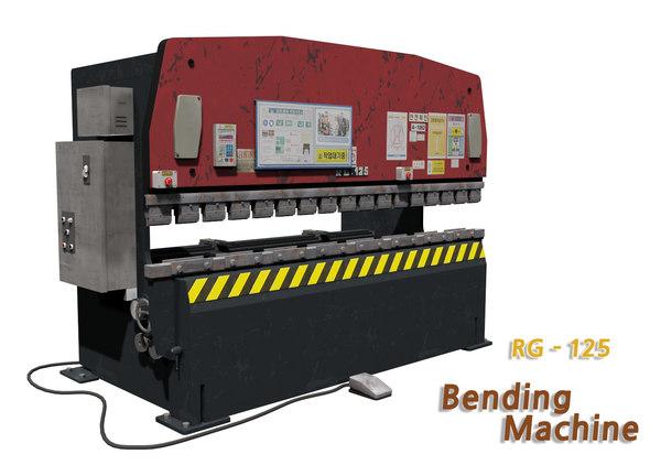 bending machine 3D