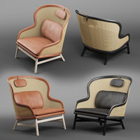 dandy armchair chair 3D model