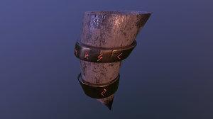horn viking 3D model