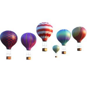 3D air balloons