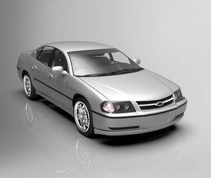 2003 chevrolet impala 3D