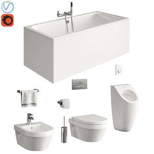 3D toilet villeroy boch