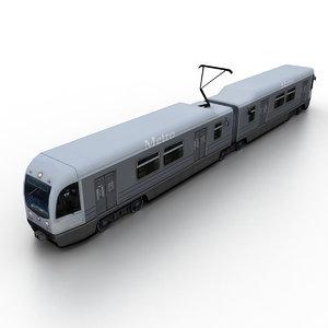 2006 ansaldobreda p2550 3D model