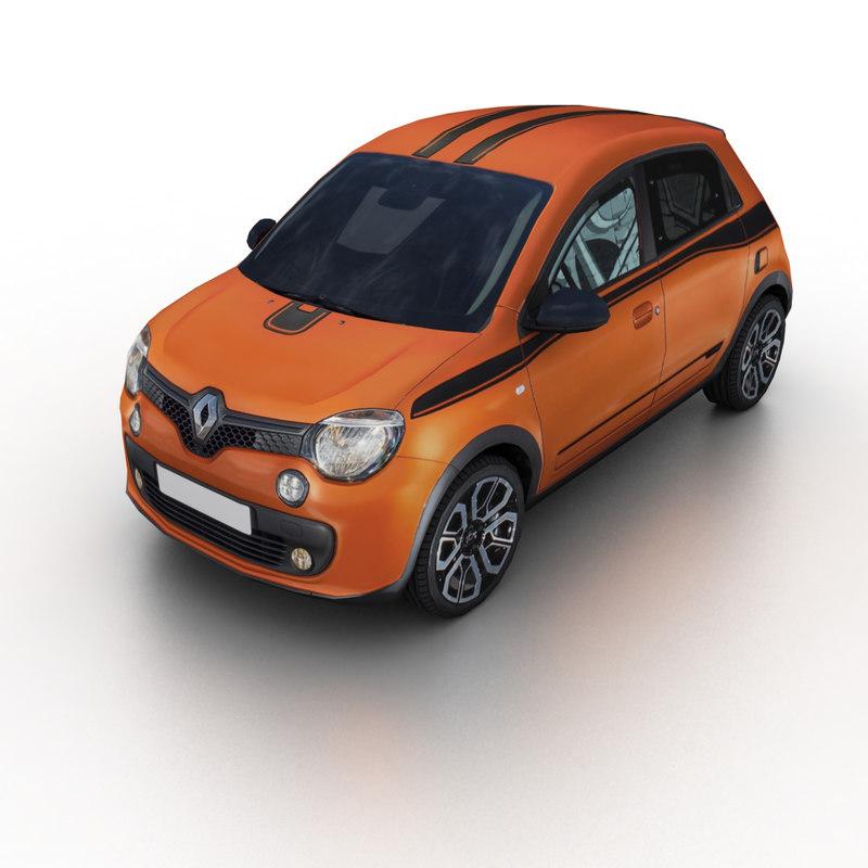Renault Twingo: 2017 Renault Twingo Gt 3D Model