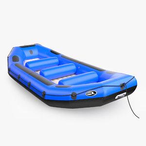 3D model robfin river raft profi