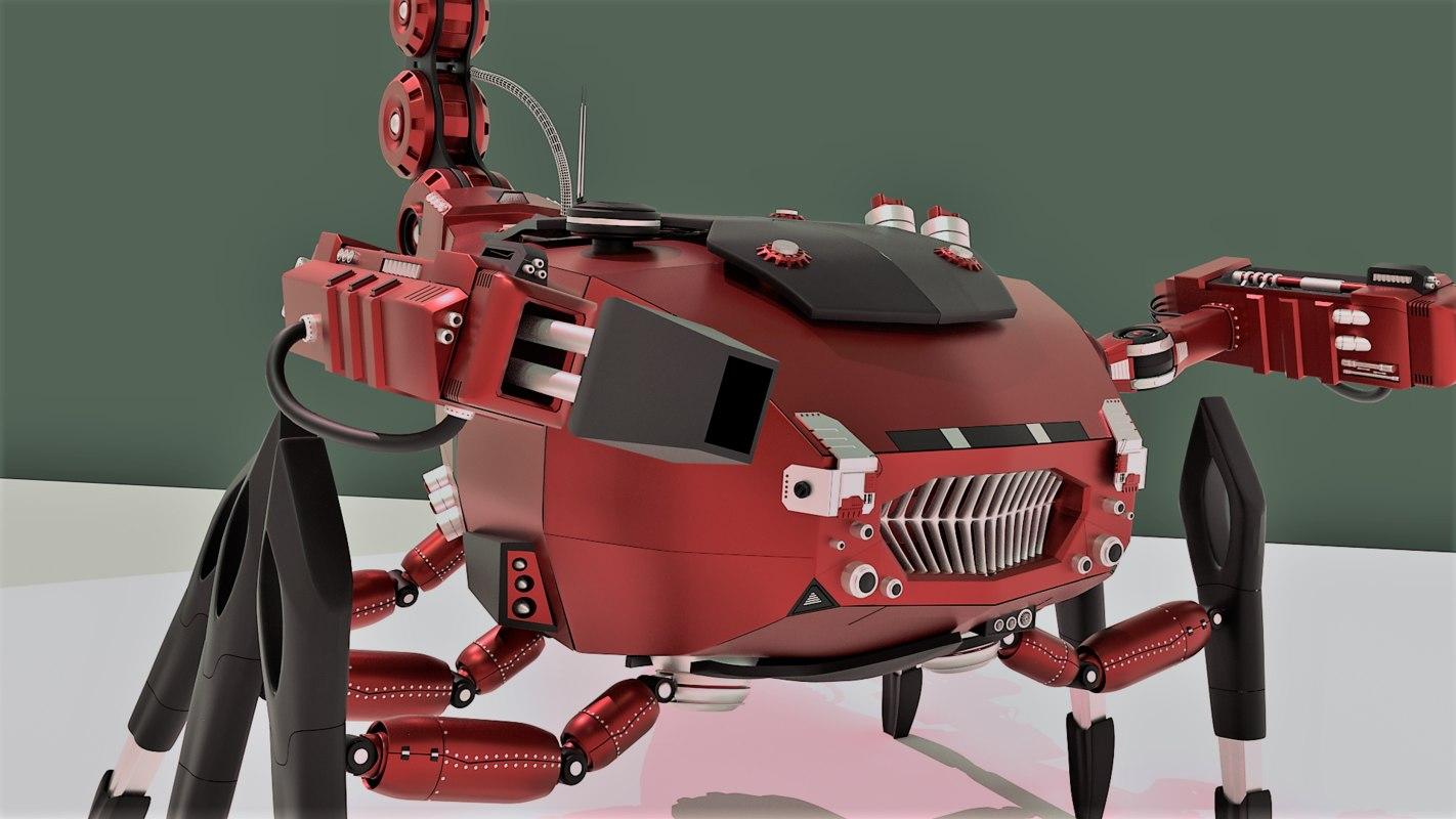 3D mechanical scorpion