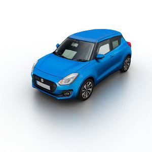 2017 suzuki swift 3D model