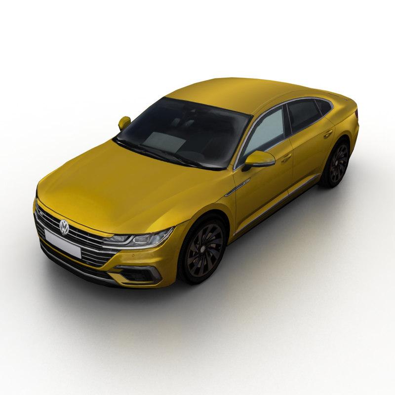 2017 arteon 3D model