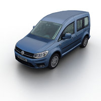 2016 caddy 3D model