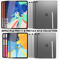 Apple iPad Pro 11 & 12.9 Wi-fi & Wi-fi+Cellular Collection
