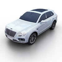 3D 2017 bentley bentayga
