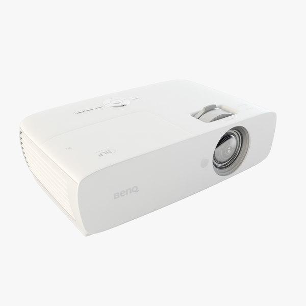 projector benq pro 3D model