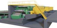Metal sheet conveyor system