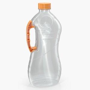 3D plastic package bottle