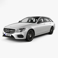 3D model mercedes-benz e-class e