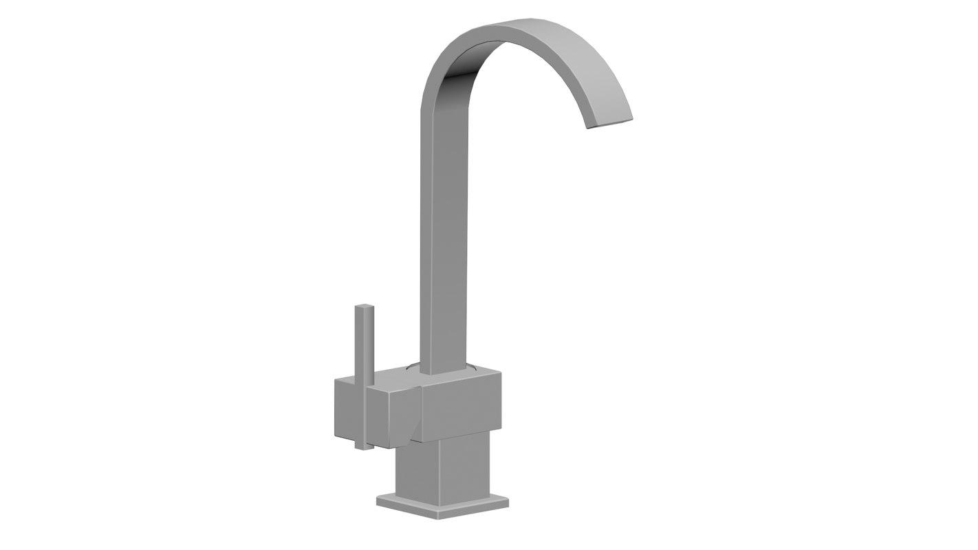 bathroom tap 3D