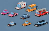 truck car 3D